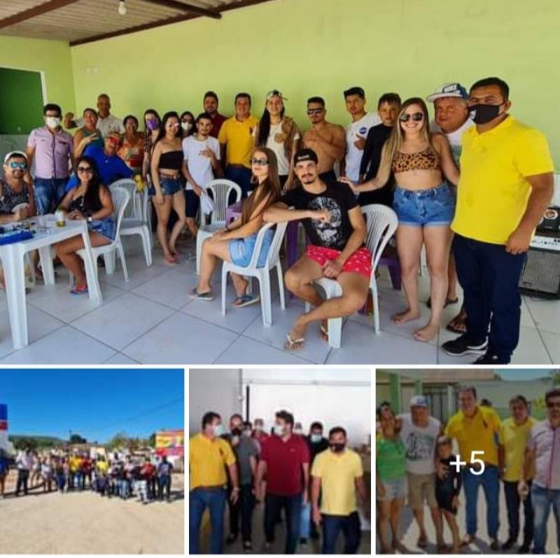 13/09: Deputados Marquinho Viana e Diego Coronel visitam obras em rodovias e pavimentação de ruas em Barra da Estiva