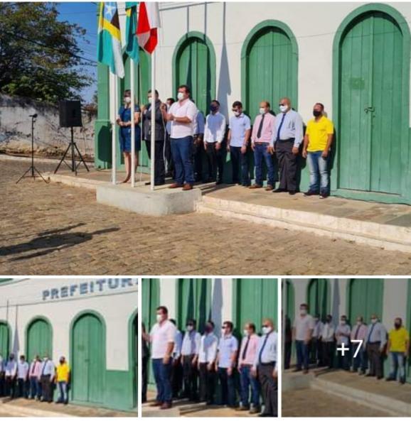 08/09: Deputado Marquinho Viana participa dos festejos do 7 de Setembro em Livramento de Nossa Senhora