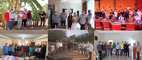 14/09: Ivana Bastos cumpre agenda de trabalho por municípios baianos