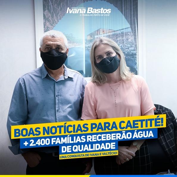 15/09: Deputada e prefeito garantem água de qualidade para 2.400 famílias de Caetité