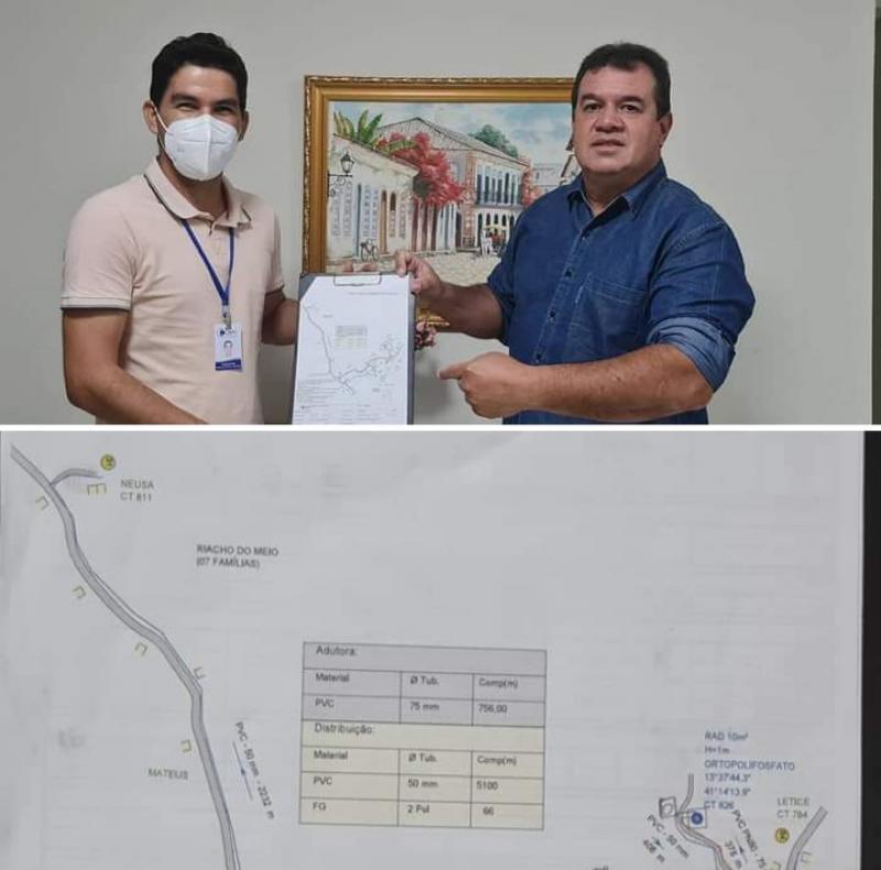 09/09: Deputado Marquinho Viana leva água para o Povoado de Samambaia, em Barra da Estiva, através de Emenda Impositiva do deputado