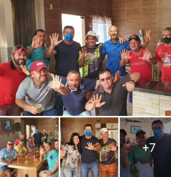 Deputado Marquinho Viana visita amigos e apoiadores em Ponto da Pedra, Barra da Estiva