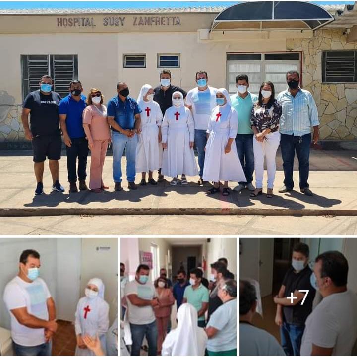 14/09: Deputados Marquinho Viana e Diego Coronel garantem ajuda para o Hospital Suzy Zanfretta em Barra da Estiva