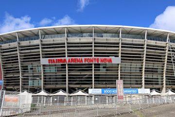 Hospital de campanha da Arena Fonte Nova pode ser reaberto