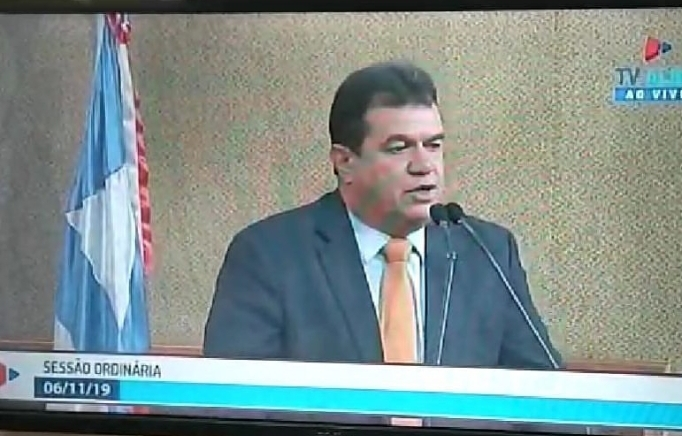 07/11/19: DEPUTADO MARQUINHO VIANA PROTESTA CONTRA PEC QUE QUER EXTINGUIR MUNICÍPIOS BAIANOS