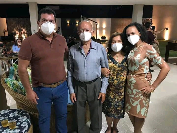 29/07: Deputado Marquinho Viana encontra amigos em Livramento de Nossa Senhora, na inauguração da reforma e ampliação do Hospital