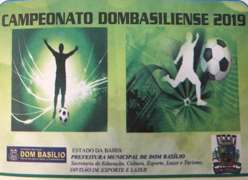 CAMPEONATO DOMBASILIENSE: RESULTADO DOS JOGOS DO ÚLTIMO DOMINGO