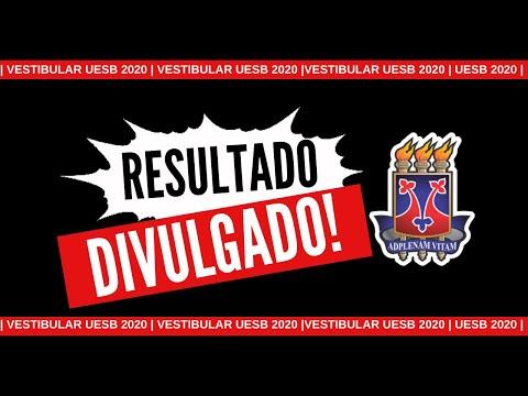 UESB DIVULGA RESULTADO DO VESTIBULAR 2020