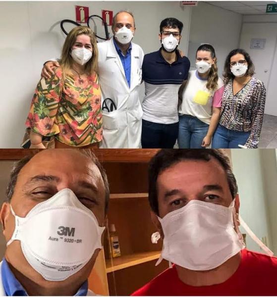 11/11/  Deputado Marquinho Viana recebe alta e agradece equipe do Hospital da Bahia