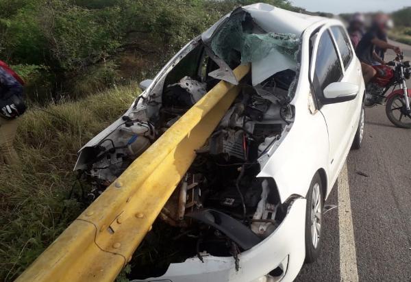 Grave acidente é registrado na BA-148 entre Brumado e Dom Basílio