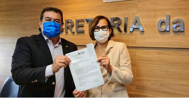 15/09: Deputado Marquinho Viana na Sesab solicita liberação de equipamentos para o Hospital Suzy Zanfretta, de Barra da Estiva
