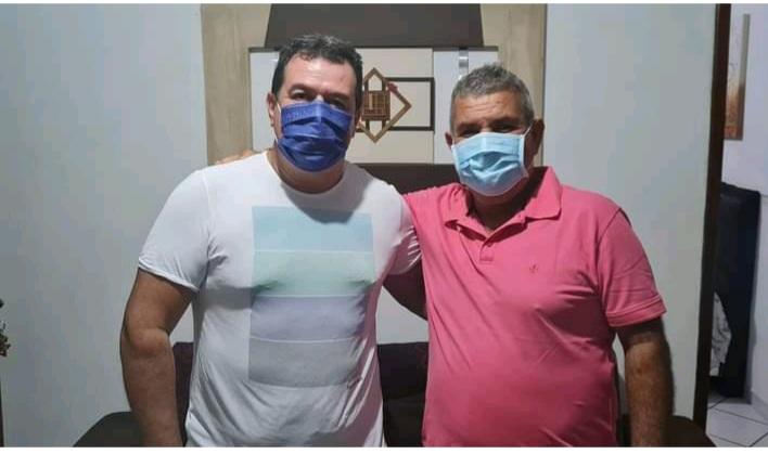 06/09: Deputado Marquinho Viana visita o ex-prefeito Didi, em Contendas do Sincorá