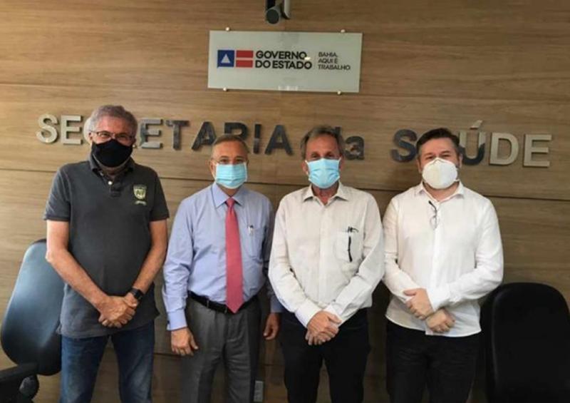 Dom Basílio: Prefeito Roberval anuncia a conquista de mais uma Unidade de Saúde da Família